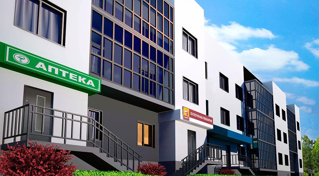 Аптека в Жилом комплексе На Героев в Сиверском, Ленинградской области